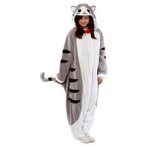 Tabby Cat Kigurumi Onesie Costume